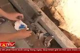 Triệt xóa tụ điểm bán lẻ ma túy ở bãi rác Trung Liệt
